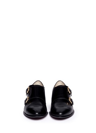 Figure View - Click To Enlarge - Sam Edelman - 'Balfour' leather monk strap shoes