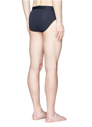Back View - Click To Enlarge - Sunspel - Stretch cotton briefs