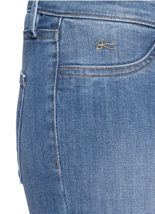 Detail View - Click To Enlarge - DENHAM - 'Spray' active denim skinny jeans
