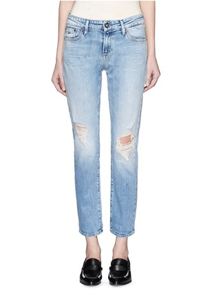 Detail View - Click To Enlarge - Denham - 'Monroe' distressed jeans