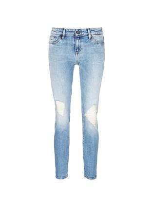Main View - Click To Enlarge - Denham - 'Monroe' distressed jeans