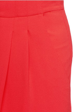 Detail View - Click To Enlarge - alice + olivia - 'Eloise' double pleat wide leg pants
