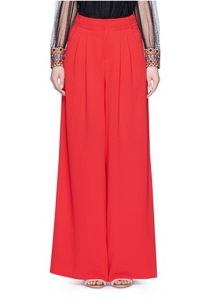 Main View - Click To Enlarge - alice + olivia - 'Eloise' double pleat wide leg pants