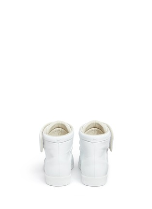 Back View - Click To Enlarge - MAISON MARGIELA SHOES - 'Future' high top leather sneakers
