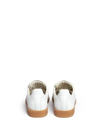 Back View - Click To Enlarge - Maison Margiela - 'Replica' paint splatter suede sneakers