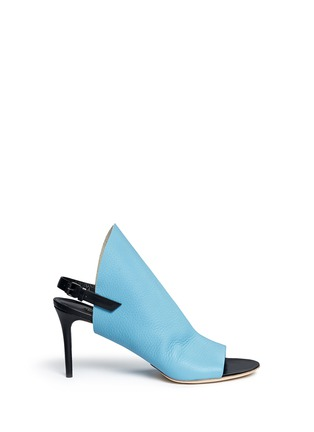 Main View - Click To Enlarge - Balenciaga - 'Clew' glove leather sandals