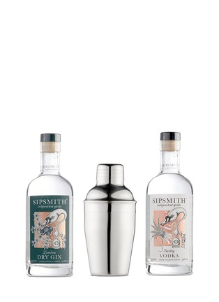 Main View - Click To Enlarge - SIPSMITH - Spirits and shaker gift set