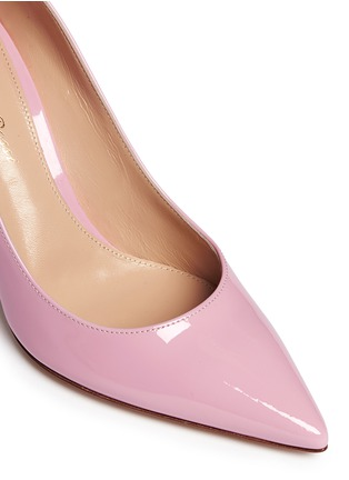 Detail View - Click To Enlarge - Gianvito Rossi - '85' patent leather pumps