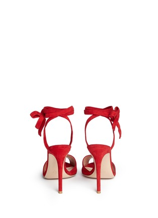 Back View - Click To Enlarge - Gianvito Rossi - 'Josie' ankle strap suede sandals