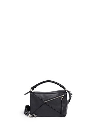 Back View - Click To Enlarge - Loewe - 'Puzzle' small calf leather bag