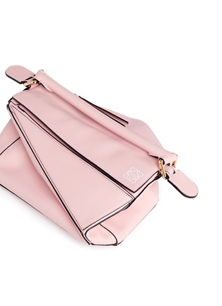 - Loewe - Puzzle' small calf leather bag