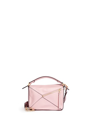 Back View - Click To Enlarge - Loewe - Puzzle' small calf leather bag