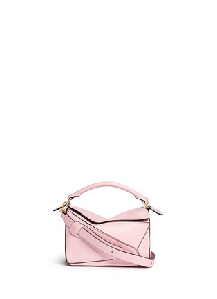 Main View - Click To Enlarge - Loewe - Puzzle' small calf leather bag