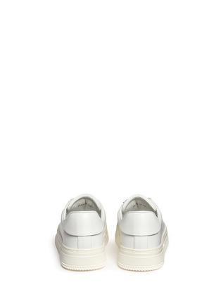 Back View - Click To Enlarge - Valentino - Leather trekking sneakers