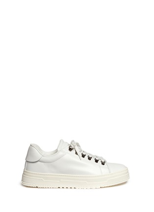 Main View - Click To Enlarge - Valentino - Leather trekking sneakers