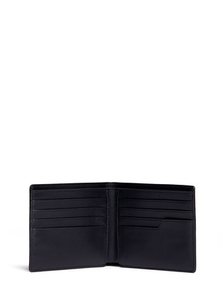 Figure View - Click To Enlarge - ANYA HINDMARCH - 'Wink' perforated leather bifold wallet