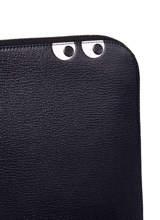 Detail View - Click To Enlarge - Anya Hindmarch - 'Eyes' leather document case