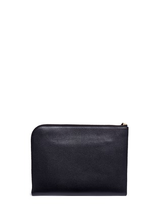 Back View - Click To Enlarge - Anya Hindmarch - 'Eyes' leather document case
