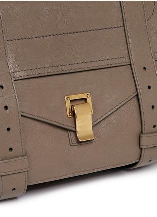 Detail View - Click To Enlarge - Proenza Schouler - 'PS1' medium leather satchel
