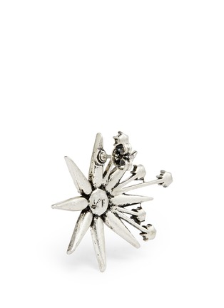 Detail View - Click To Enlarge - LULU FROST - 'Nova' glass crystal pavé star stud earrings