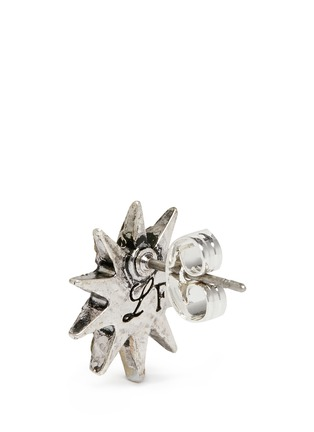 Detail View - Click To Enlarge - Lulu Frost - 'Electra' glass crystal pavé star stud earrings