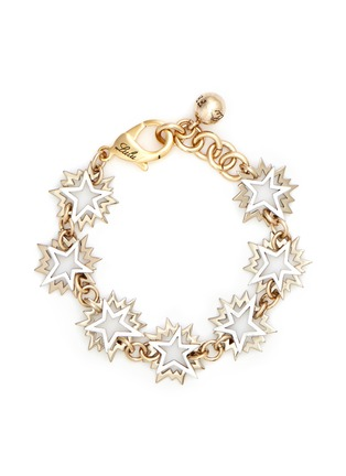 Main View - Click To Enlarge - LULU FROST - 'Cosmic' asymmetric star brass bracelet