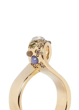 Detail View - Click To Enlarge - Lulu Frost - 'Sequence' gemstone cabochon ring