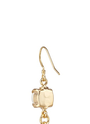 Detail View - Click To Enlarge - Joomi Lim - 'Screw U' Swarovski pearl earrings