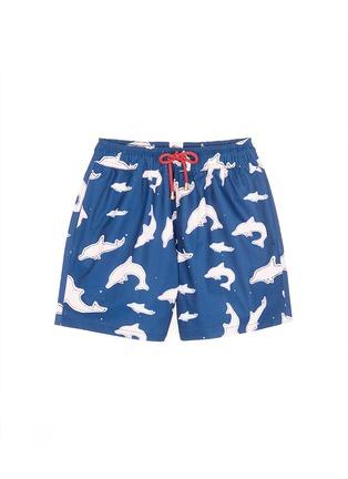 Main View - Click To Enlarge - Māzŭ - Tai O' dolphin print swim shorts
