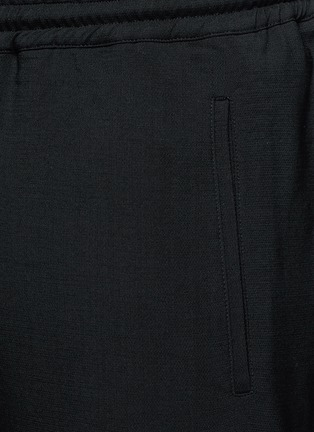 Detail View - Click To Enlarge - BALENCIAGA - Wool gabardine jogging pants