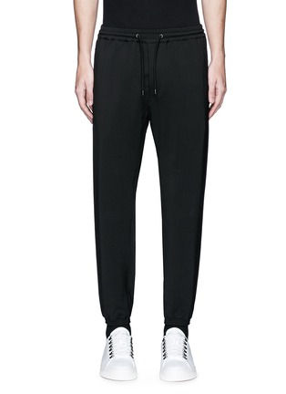 Main View - Click To Enlarge - BALENCIAGA - Wool gabardine jogging pants