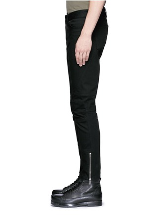 Detail View - Click To Enlarge - Balenciaga - Slim fit biker jeans