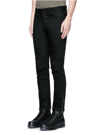 Front View - Click To Enlarge - BALENCIAGA - Slim fit biker jeans