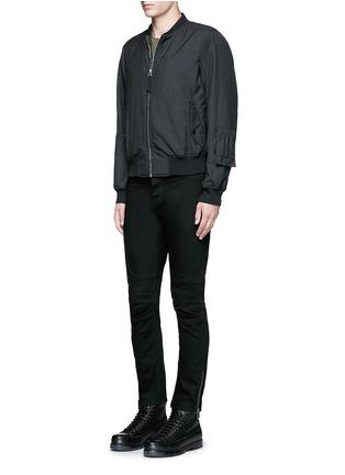 Figure View - Click To Enlarge - Balenciaga - Slim fit biker jeans