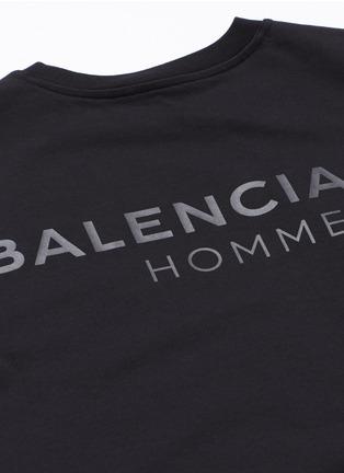 Detail View - Click To Enlarge - Balenciaga - Logo print T-shirt