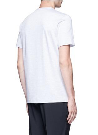 Back View - Click To Enlarge - Balenciaga - Logo print T-shirt