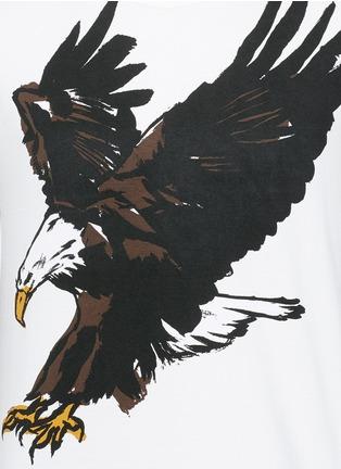 Detail View - Click To Enlarge - Balenciaga - Eagle print cotton T-shirt