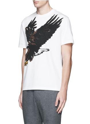 Front View - Click To Enlarge - Balenciaga - Eagle print cotton T-shirt