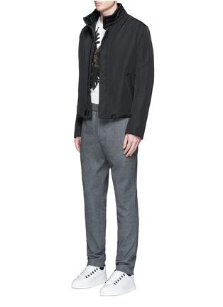 Figure View - Click To Enlarge - Balenciaga - Eagle print cotton T-shirt