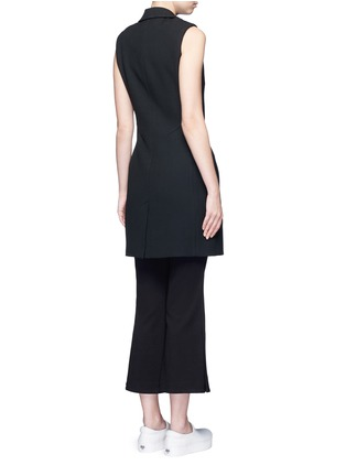 Back View - Click To Enlarge - 72723 - Crepe sleeveless dress