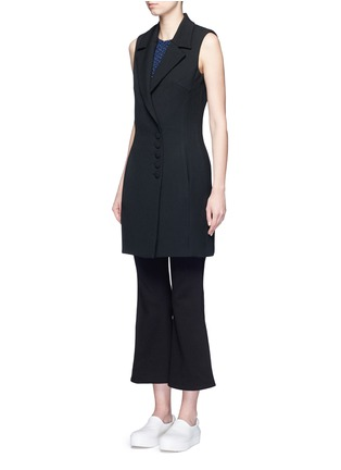 Front View - Click To Enlarge - 72723 - Crepe sleeveless dress