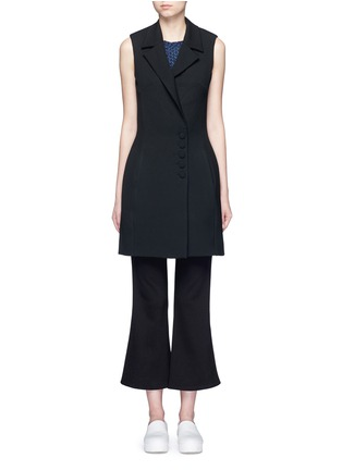 Main View - Click To Enlarge - 72723 - Crepe sleeveless dress