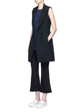 Figure View - Click To Enlarge - 72723 - Crepe sleeveless dress