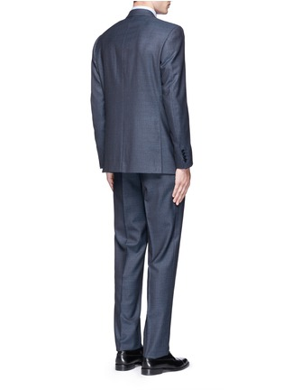 Back View - Click To Enlarge - Canali - 'Contemporary' stripe wool suit