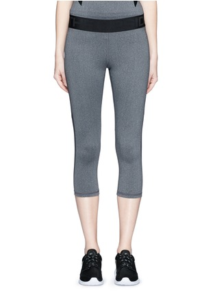 Main View - Click To Enlarge - THE UPSIDE - 'Guru NYC' performance capri leggings