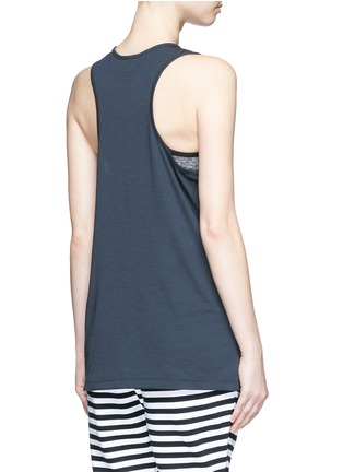 Back View - Click To Enlarge - The Upside - 'The Markova Dri Release' racerback tank top