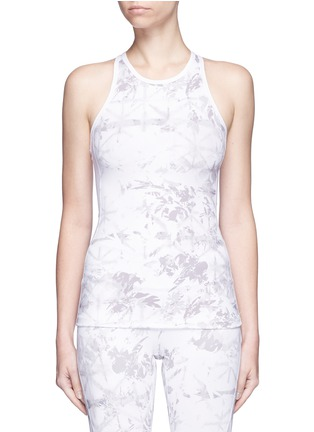 Main View - Click To Enlarge - Alala - 'White Palm' racerback tank top
