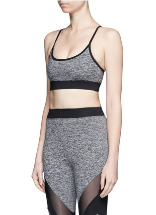 Front View - Click To Enlarge - Koral - 'Lucent' lattice back sports bra