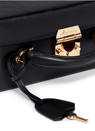 Detail View - Click To Enlarge - Mark Cross - 'Grace Box' large leather trunk