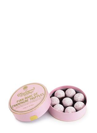 Main View - Click To Enlarge - CHARBONNEL ET WALKER - Pink Marc de Champagne Truffles